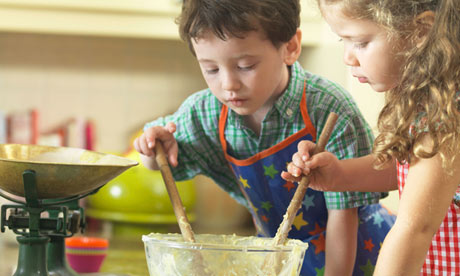 How to tell a chid about death:Children baking